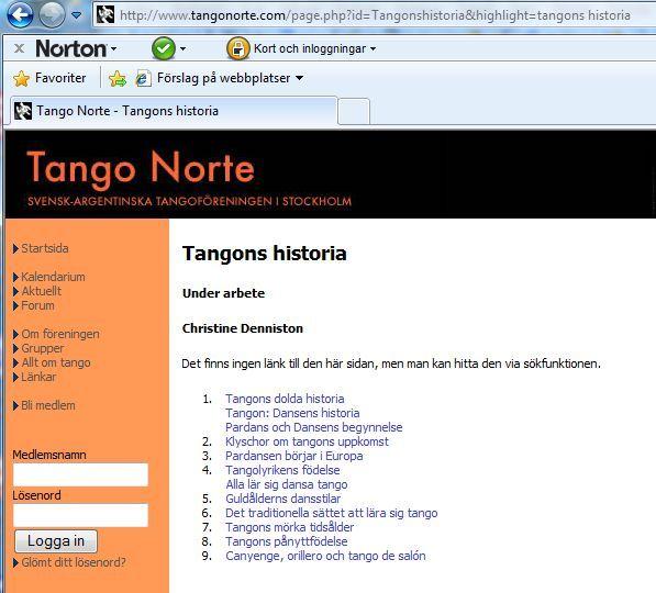 webbsida ryska dansa i Helsingborg